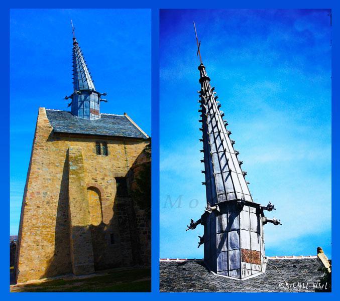 Le clocher de Plougrescant