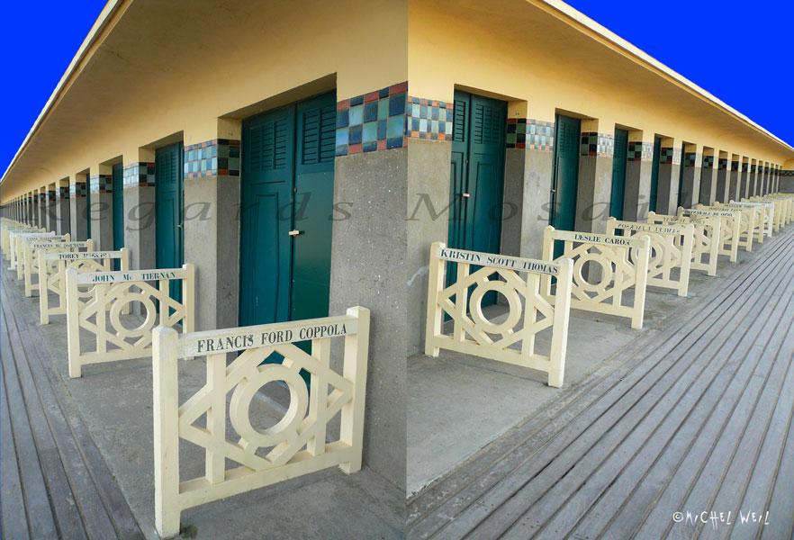 Cabines de plage de Deauville