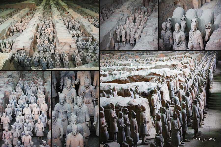L'armée en terre cuite de Xian
