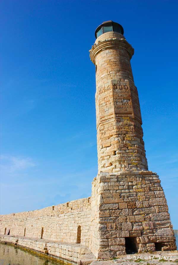 Le phare de Réthymnon