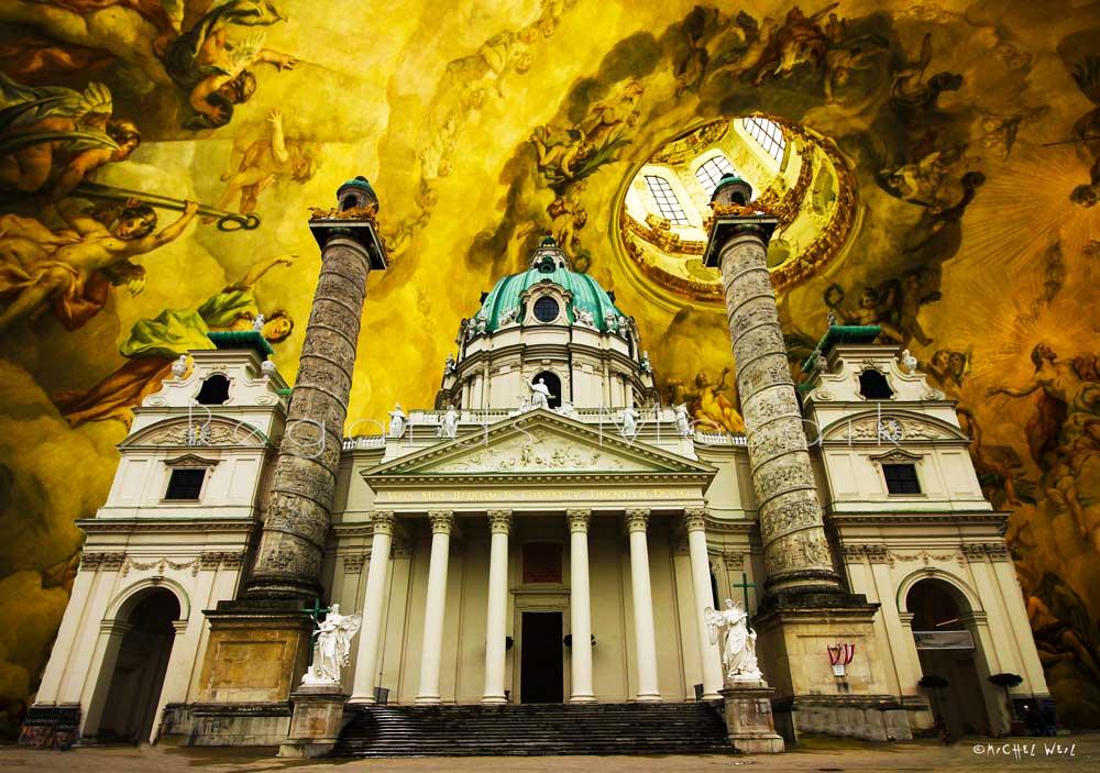 Die Karlskirche in Wien