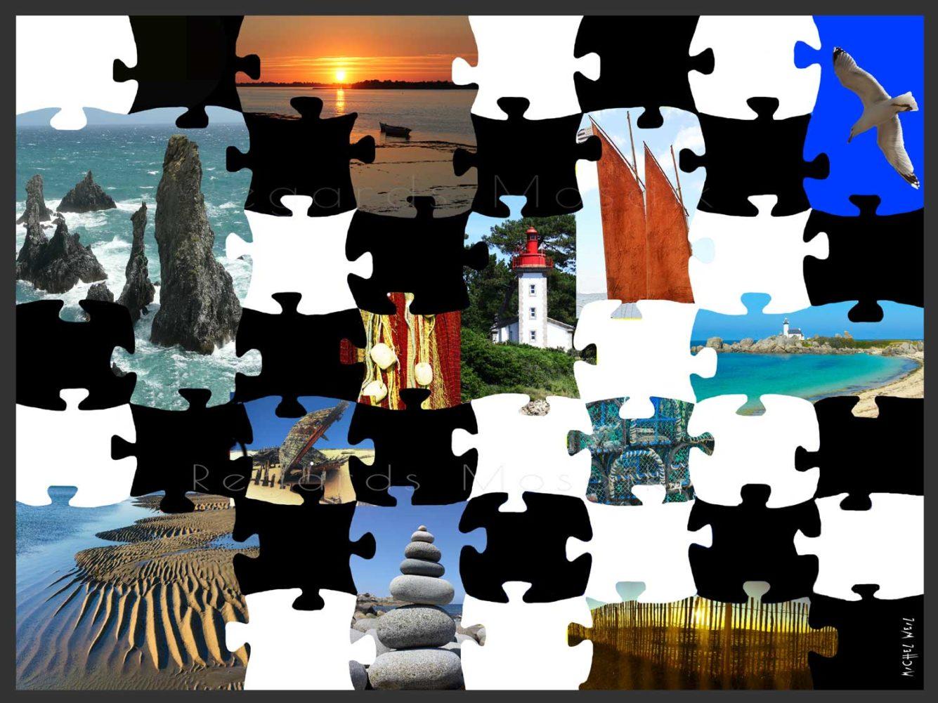 Puzzle of mosaïque